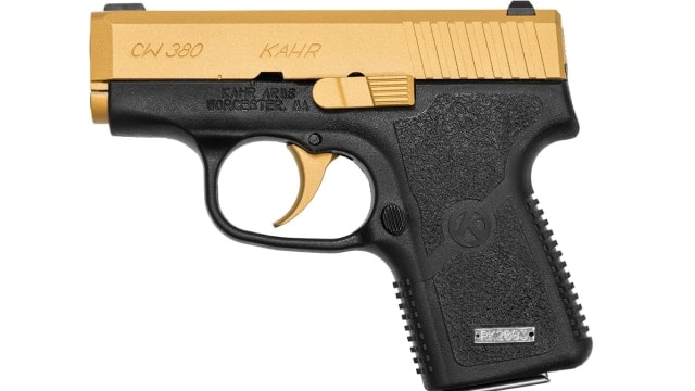 Kahr goes gold with limited edition 380