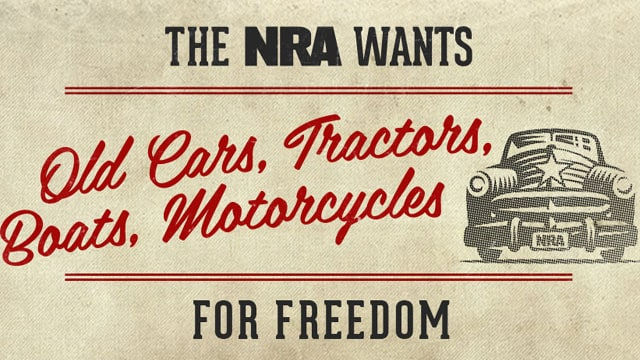 NRA-Car-campaign
