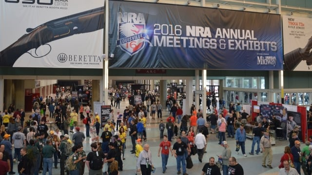 NRA Louisville convention is second largest ever