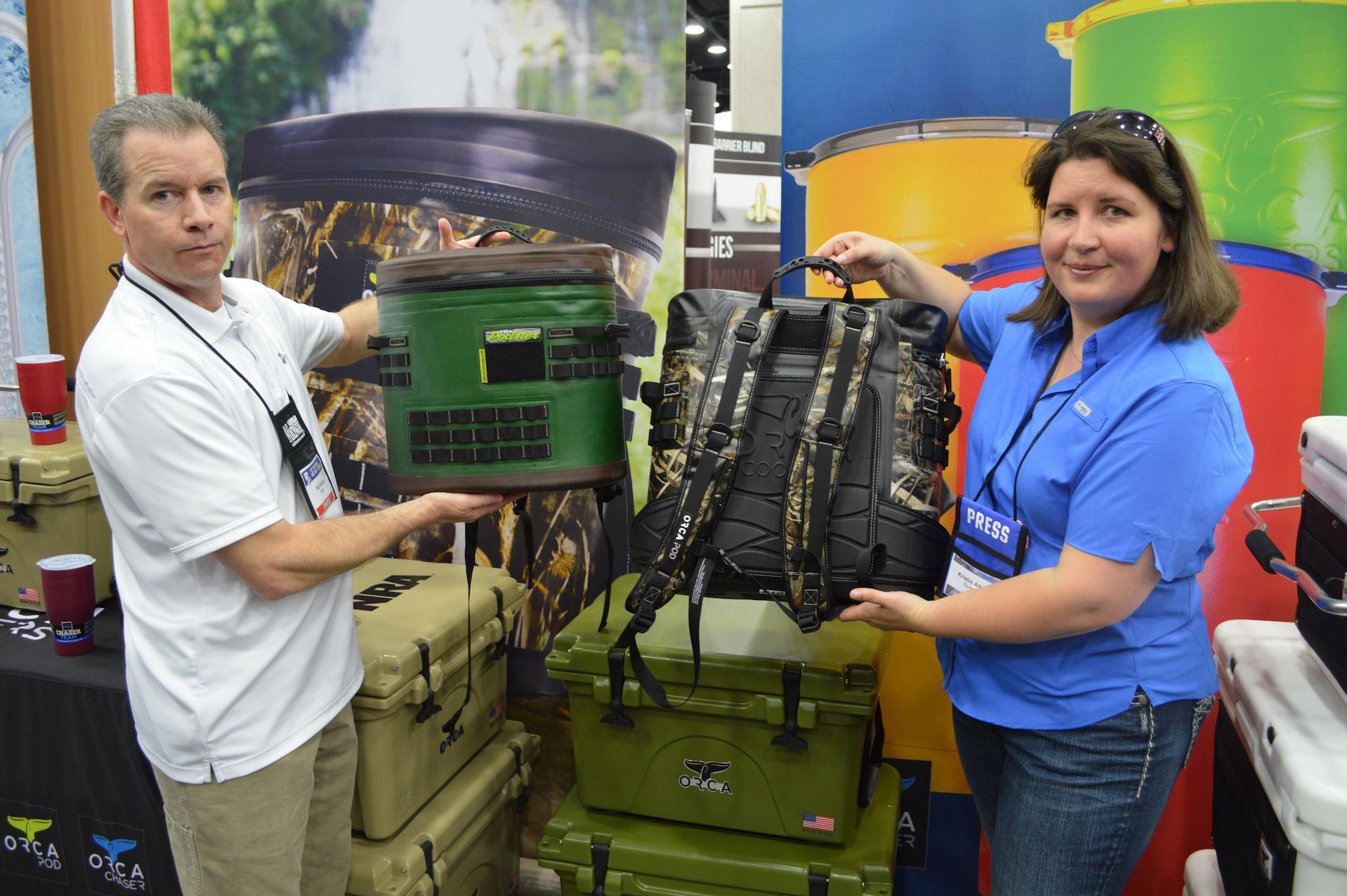Orca Pod backpack coolers (Photo: Kristin Alberts)