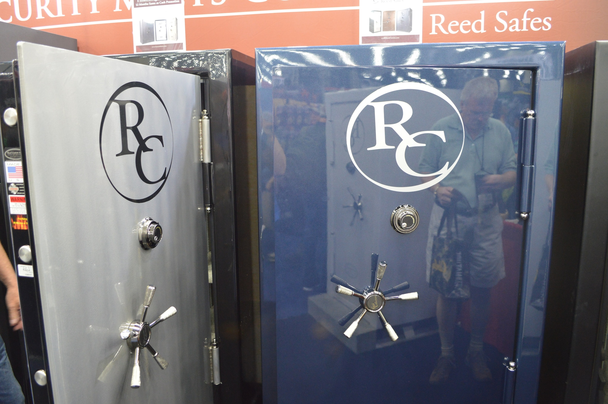 Reed Safes pair a fresh interior design with a rugged Made-in-the-USA build.