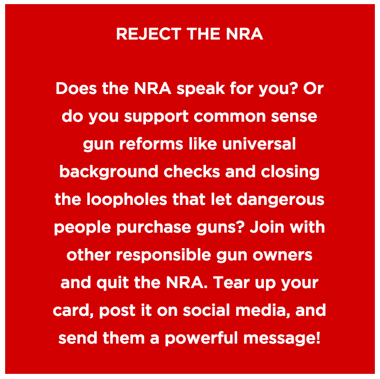 Does the NRA speak for you?