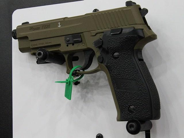 Sig ASP pistol