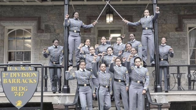 This snapshot of cadets, including on West Point grounds, is causing an uproar.