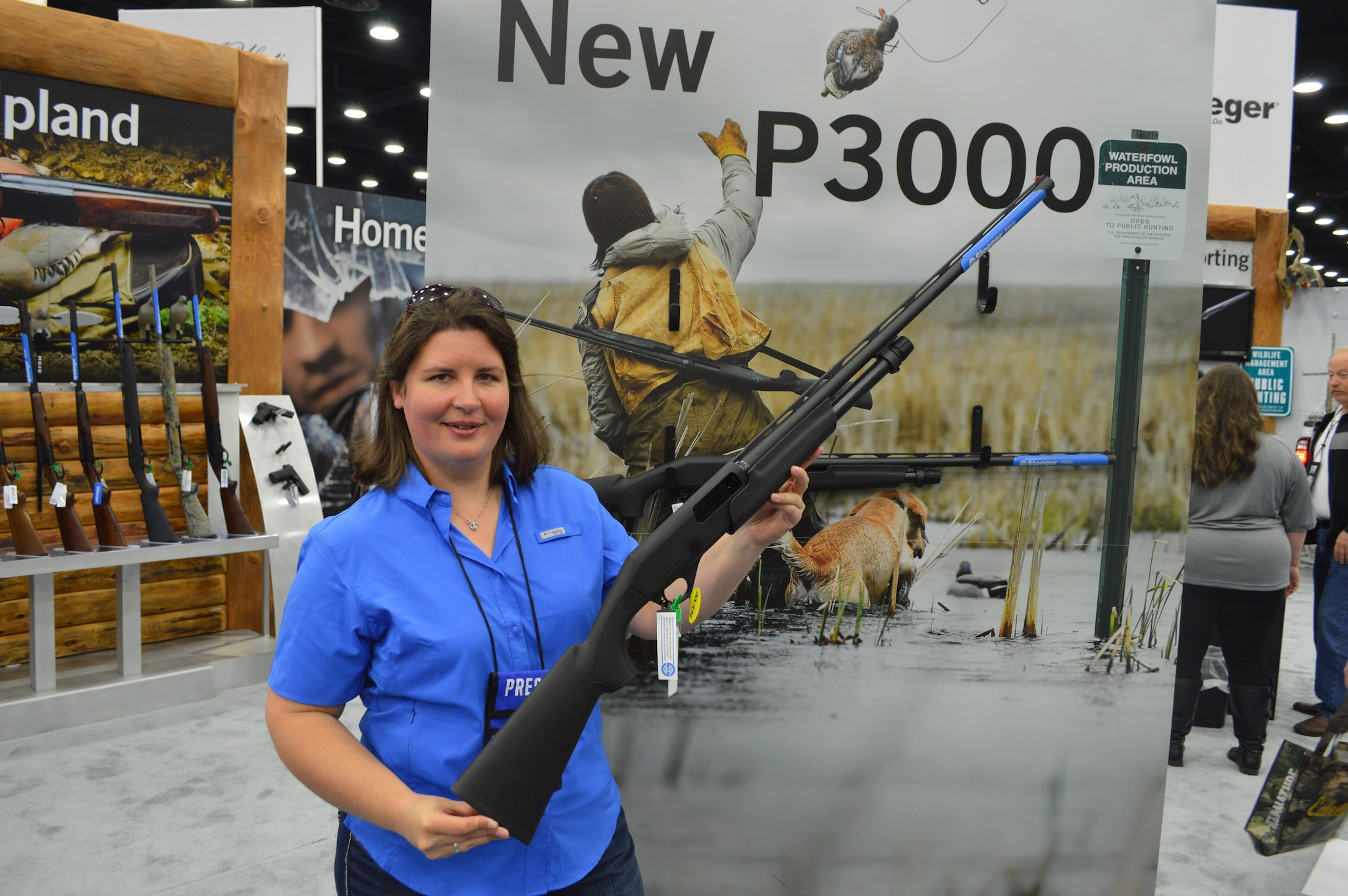 Stoeger's P3000 pump-action 12-gauge is priced to steal the market at $299 retail.