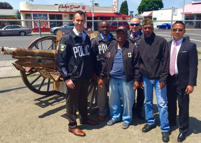 Stolen WWI cannon reunited with veterans' group