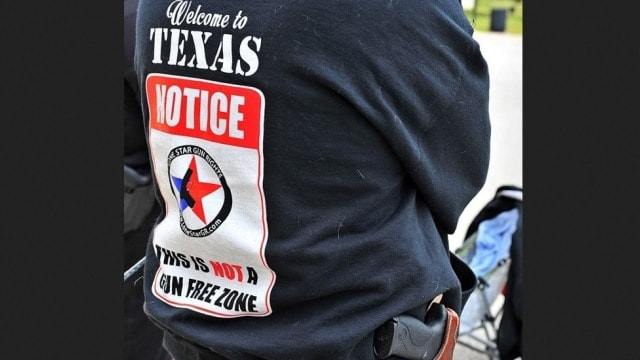 Texas tops 1 million licensed to carry handguns