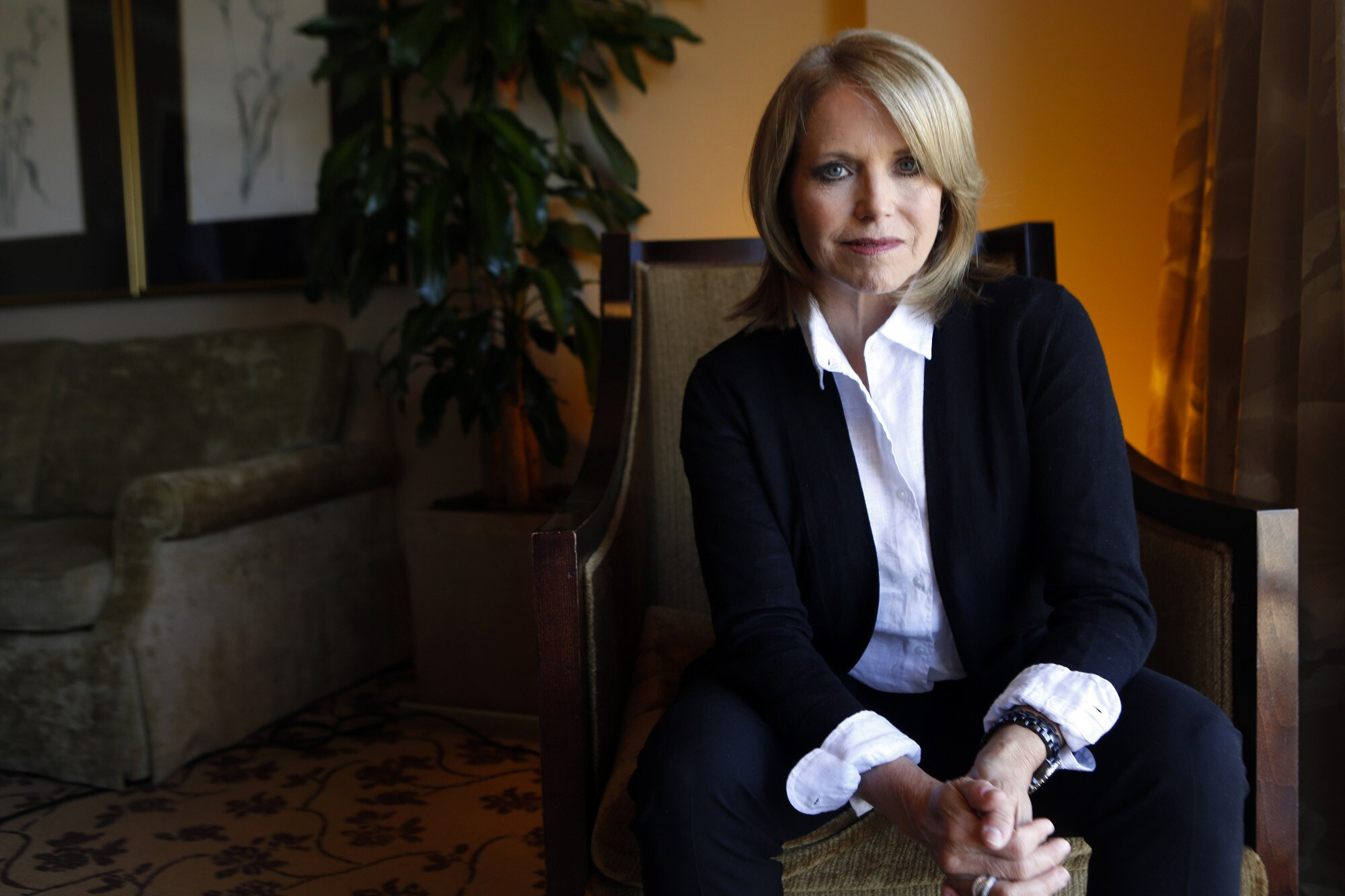 Katie Couric says documentaries are the new journalism. Her new film on gun violence in America will be released May 15, just days before the NRA convention in Louisville, Kentucky. (Photo: The Los Angeles Times)