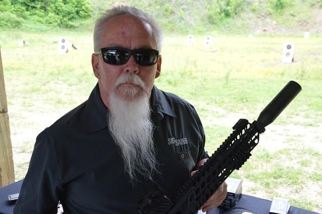 The tactical honey badger himself, Mr. John Hollister was on site.