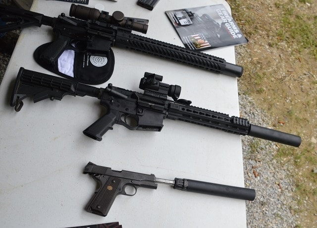 Liberty Suppressors tapped in with several offerings...