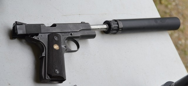 ...and you know you want a close up of that hushed-up M1911