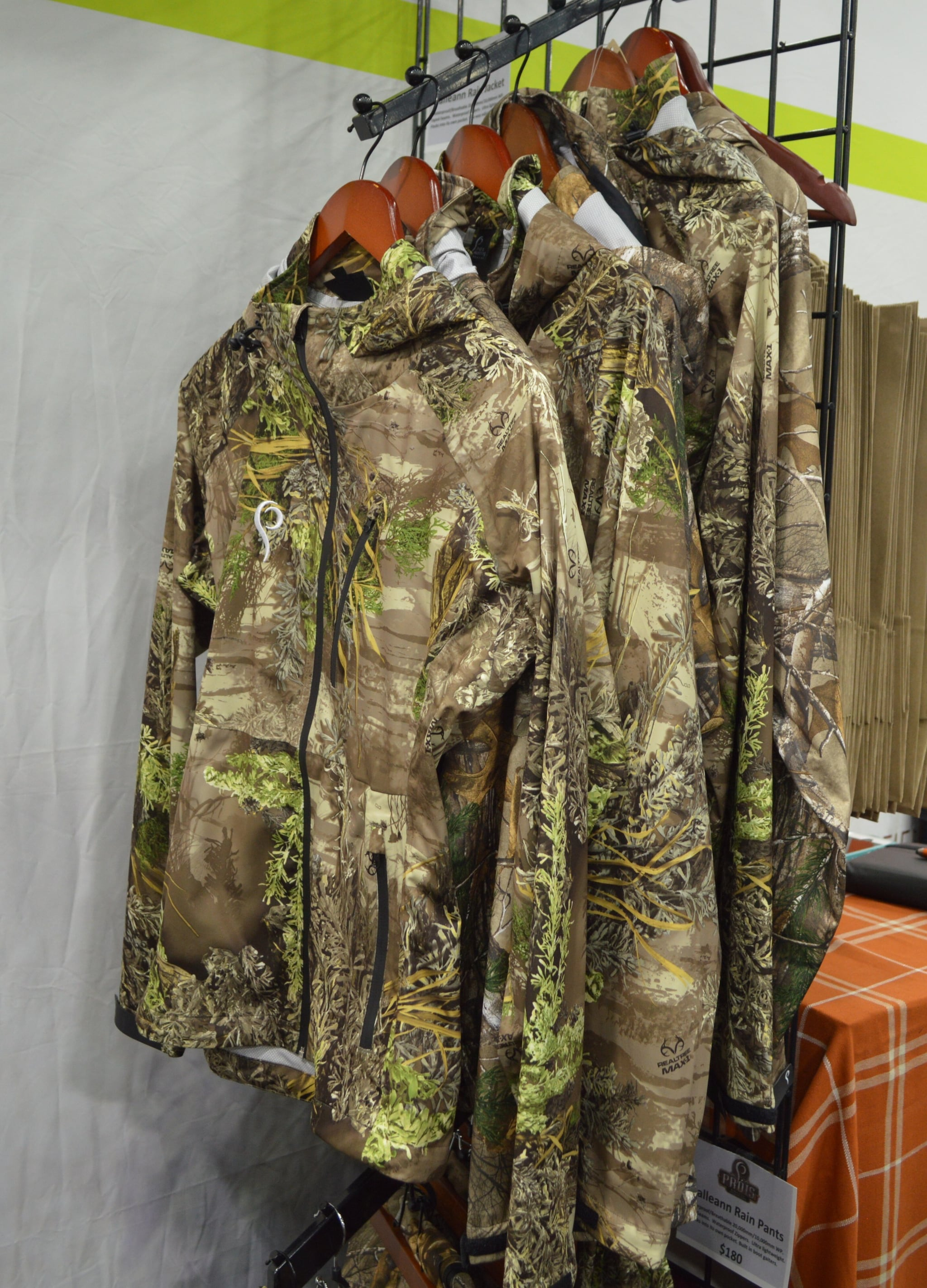 The Prois Galleann waterproof, breathable, lightweight rainjacket that packs into its own pocket. (Photo: Kristin Alberts/Guns.com)