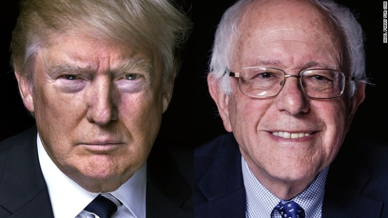 Donald Trump and Bernie Sanders have agreed to debate, though nothing has been officially scheduled yet. (Image: CNN)