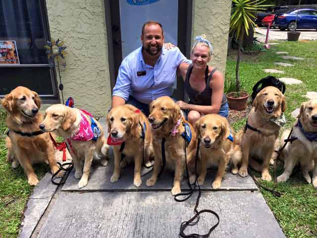 therapy dogs Orlando shooting