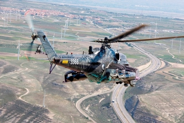 Czech out this Mi-24 Hind in hybrid alien tiger camo that showed up at NATOs Tiger Meet (5 PHOTOS)