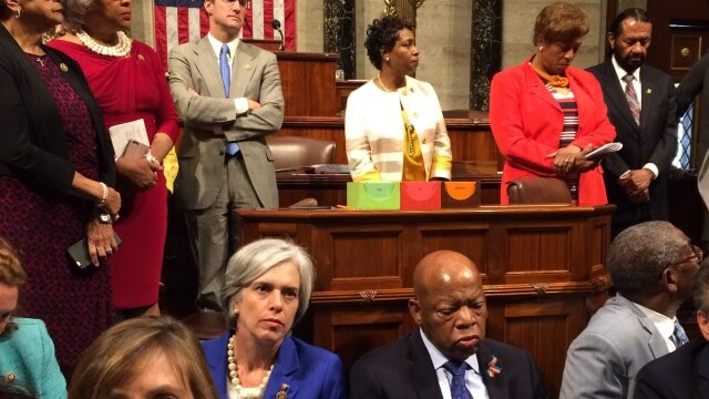 Ethics complaint filed for fundraising during House gun sit-in