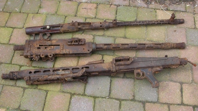 Just Poking Around And Found A Bunch Of Old Wwii Machine