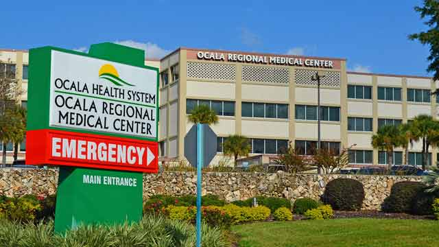 feces covered intruder at ocala medical center