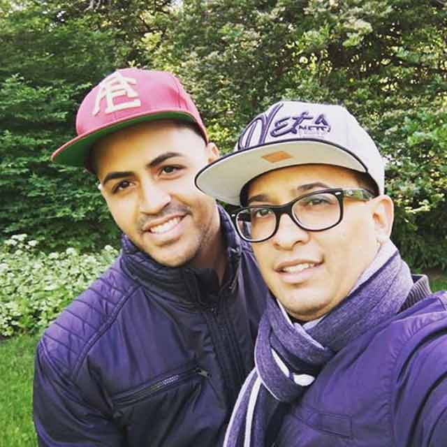 Oscar Aracena Montero, left, and his partner, Simon A. Carrillo, right. Both were killed during the shooting.