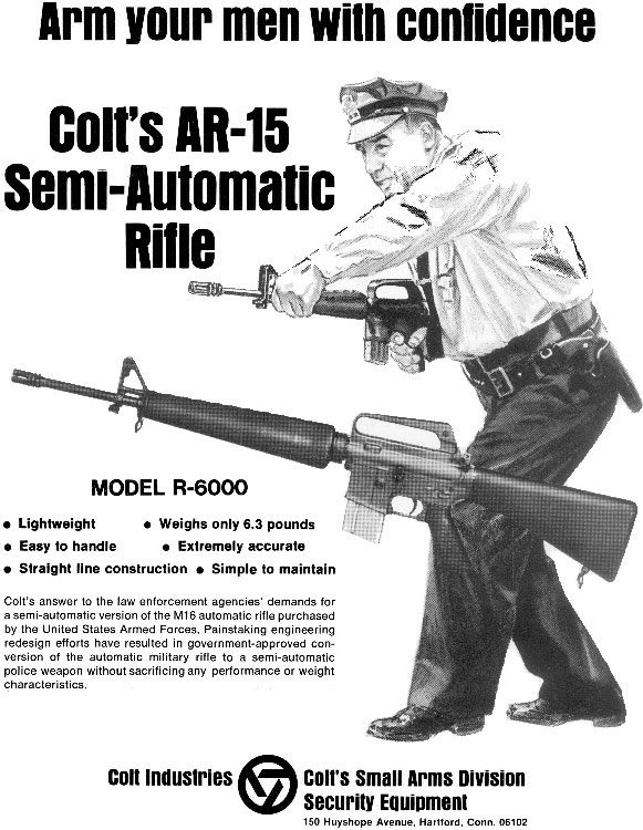 colt ad from 1965 showing that Chris Costa is not as revolutionary as you would think