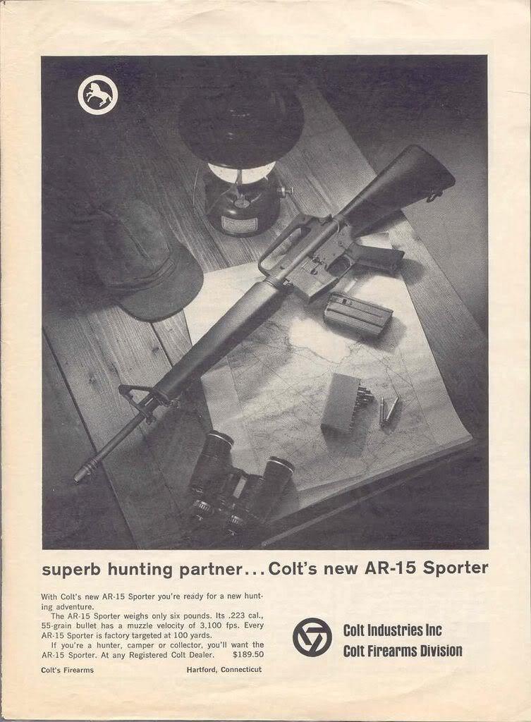 colt ad sp-1 1963