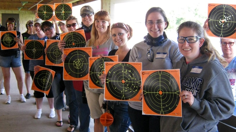 Female shooters show their skills (Photo: Outdoor Hub)