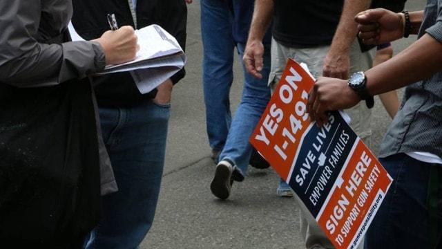 Bloomberg-backed Washington gun confiscation initiative garners 335K signatures