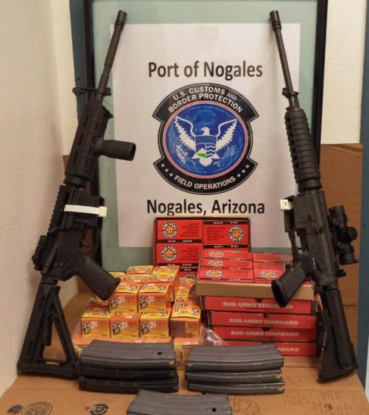CBP stops guns and ammo going into Mexico (PHOTOS)
