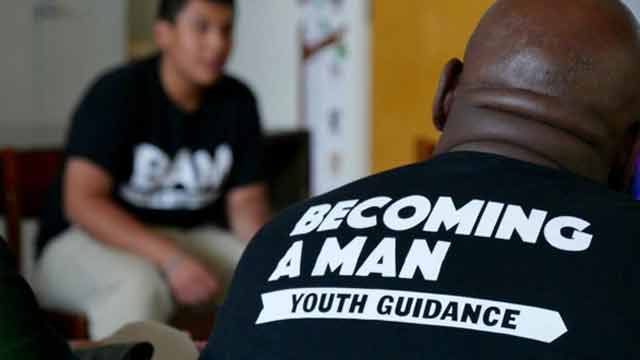 becoming a man youth guidance team