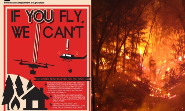 Police can now shootdown drones over Utah wildfires