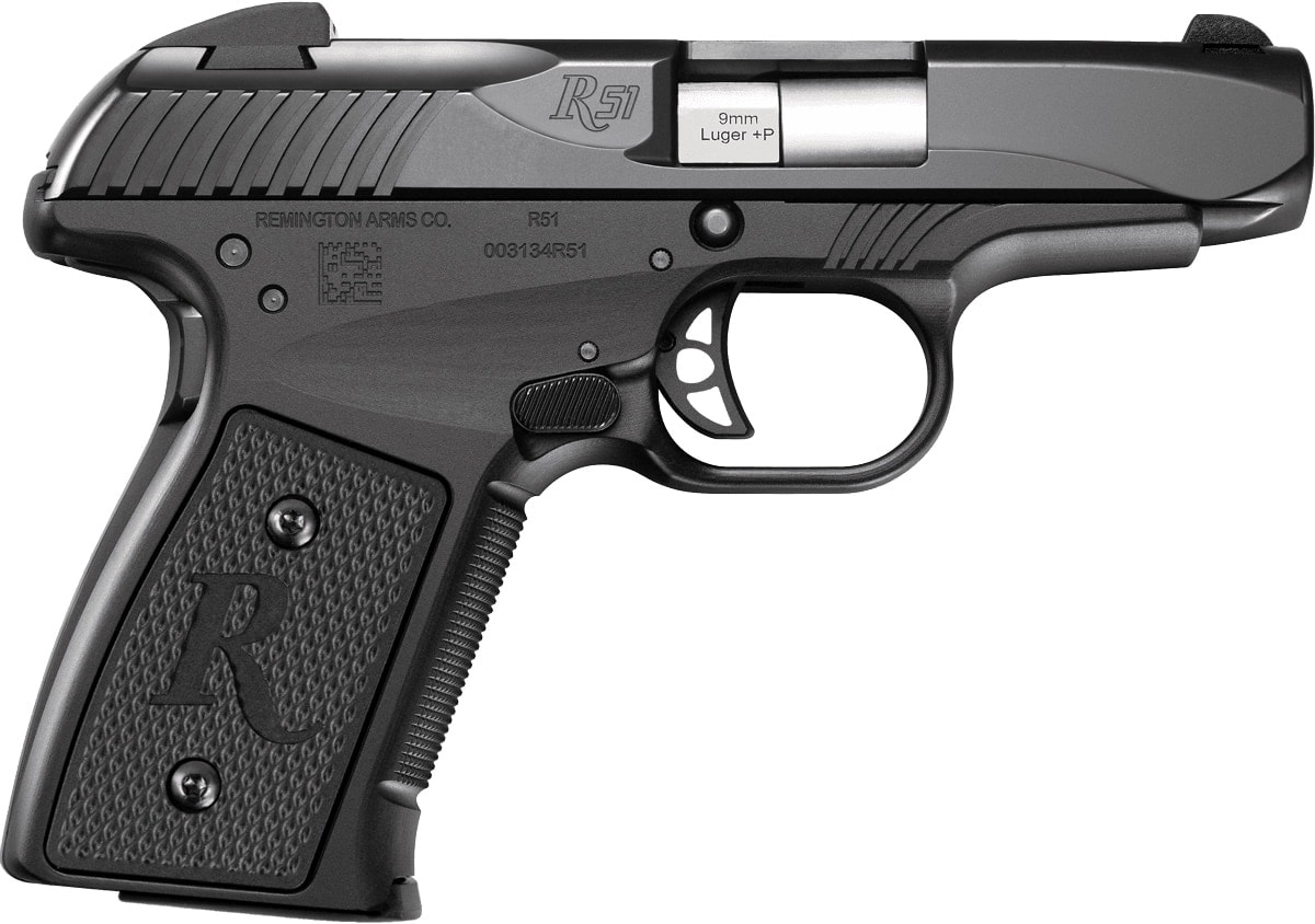 The Remignton R51 subcompact pistol chambered in 9mm. (Photo: Remington)