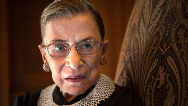 Justice Ruth Bader Ginsburg was appointed by President Bill Clinton in 1993. (Photo: Getty)