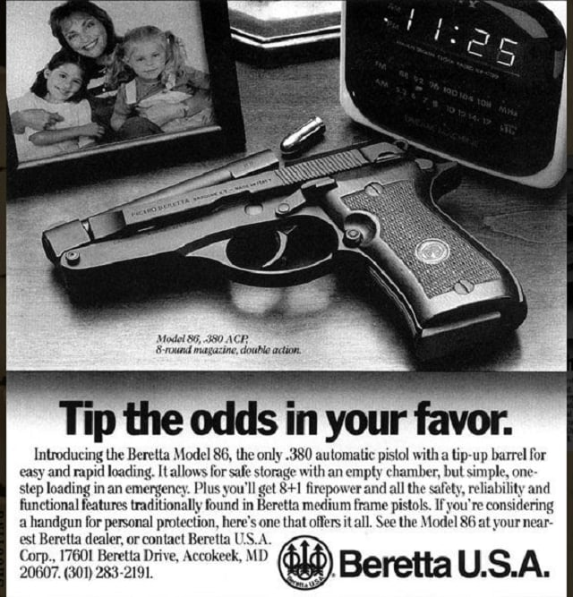 Or the forgotten Beretta 86