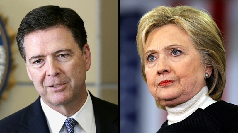 FBI Director James Comey and presumptive Democratic presidential nominee Hillary Clinton (Photo: Associated Press)