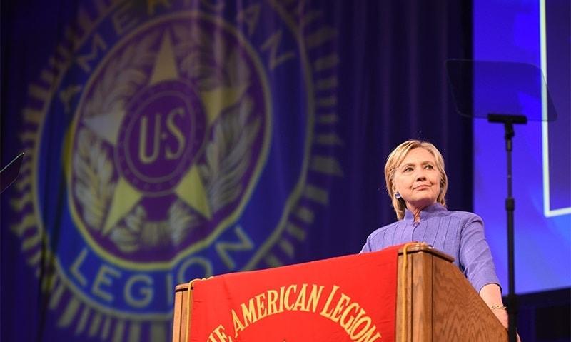 Hillary Clinton (Photo: Clay Lomneth/The American Legion)