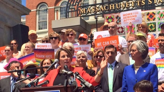 Attorney Gen. Maura Healey has the growing support of gun control groups, mayors, and lawmakers for her push to change how the state's gun laws are interpreted. (Photo: Maura Healey via Twitter)