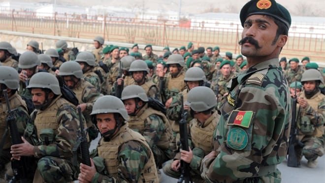 The first image of the Afghan National Army when you search it in Google has a nice moostache.