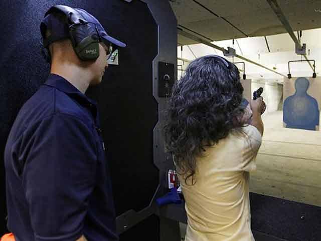 free gun class for women