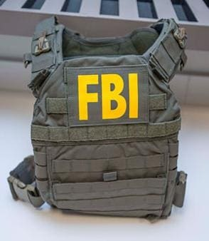 A picture of a vest similar to the one stolen. (Photo: FBI)