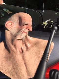 Fugitive disguises himself as a senior citizen to evade arrest