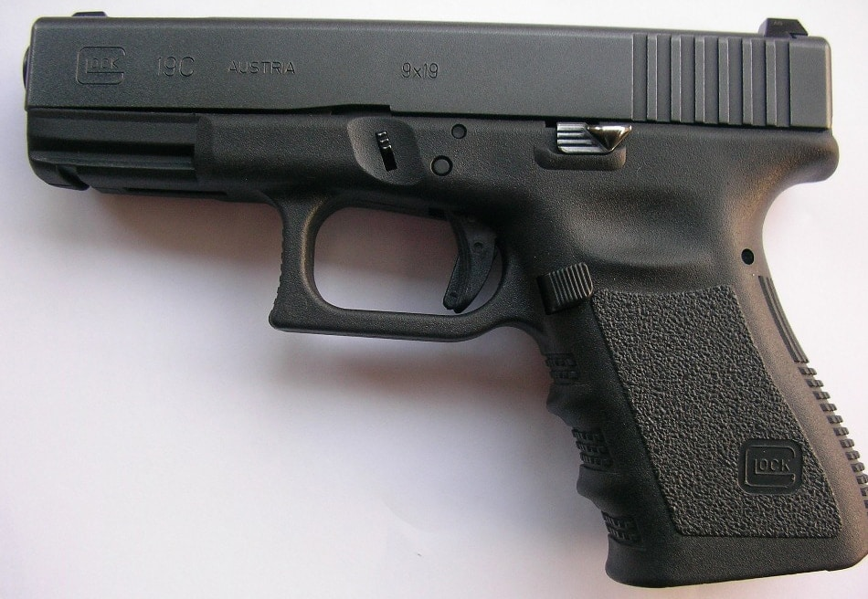A Glock 19C like the one with the alleged defect.