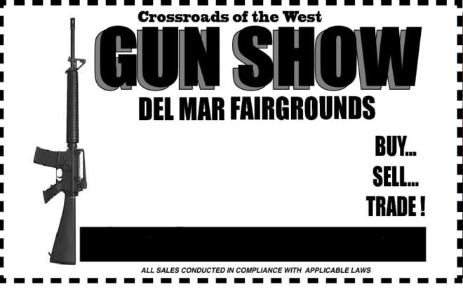 The Crossroads of the West gun show has called Del Mar home for a quarter century, and the organizer behind it says it is tightly regulated.