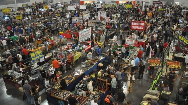 Gun control proponents seek to bar gun shows from California fairground