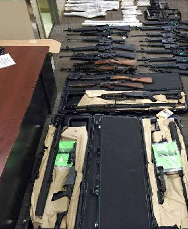 Juan Mexicano arrested with cache that included 4 select-fire weapons (PHOTOS) 3