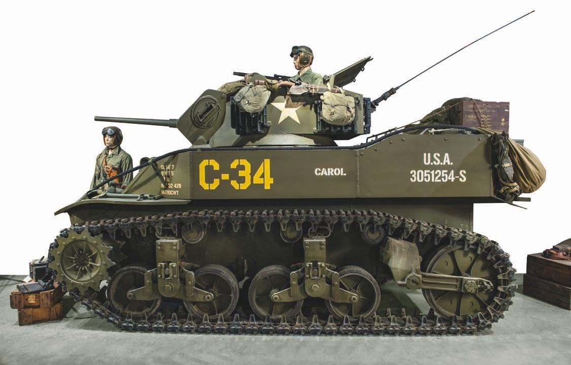 1944 Cadillac M5 Stuart tank