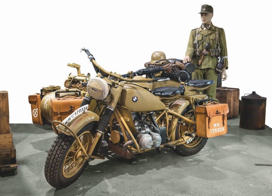 Afrika Korps marked BMW