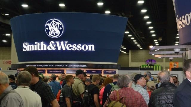 Smith and Wesson drops $500K into NSSF bucket, citing Maura Healey