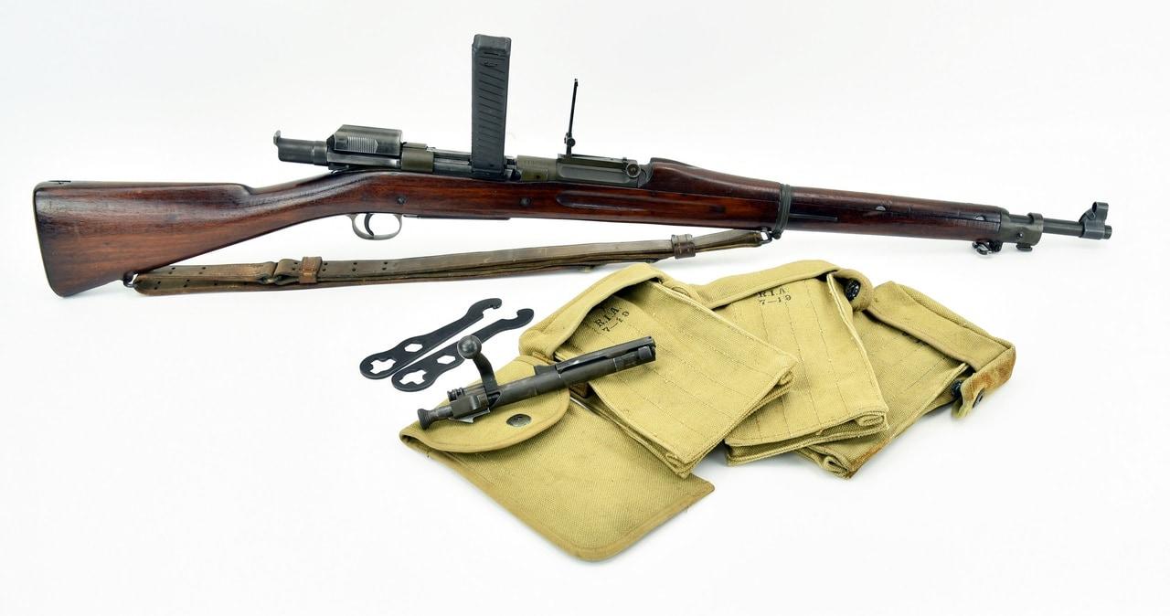 Springfield Armory 1903 MK I .30-06 SPRG (R18854) caliber rifle. Springfield 1903 with Pedersen device