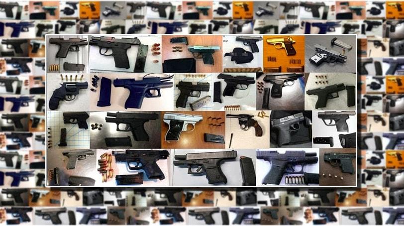 Traveling with guns (Photo: TSA)