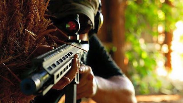 Competitive shooting with a Trijicon scope. (Photo: Trijicon/Facebook)